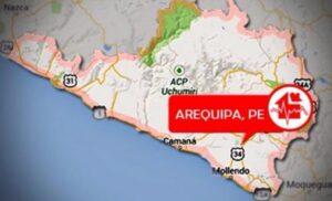 Fuerte movimiento sísmico sacudió la ciudad de Arequipa