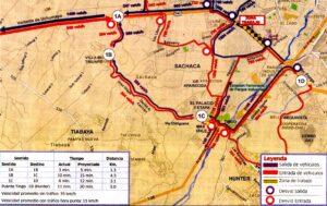 GRA efectuará desvíos de ruta por obras en la variante de Uchumayo este viernes