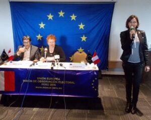 VIDEO. Observadores de Unión Europea desmienten a OEA y afirman no habrá fraude electoral