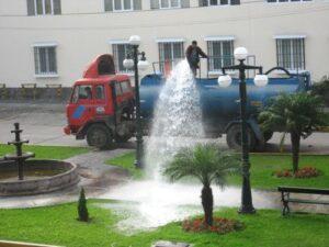 Formalizarán a municipalidades sobre cantidad de agua que utilizan para riego de áreas verdes