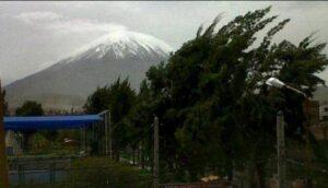 Vientos de alta intensidad se presentarán este fin de semana en Arequipa