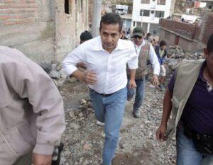 El mandatario Ollanta Humala llegó a Arequipa para supervisar obras de agua potable