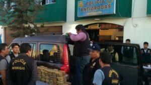 Un millón y medio de dólares en droga fue incautada por PNP en Yura