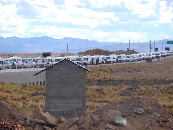 caravana Keiko Fujimori