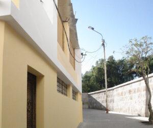 Rastauran 16 casonas y dos balcones en la calle Santa Catalina