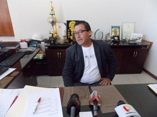 Alcalde de Mariano Melgar, Edwin Martínez Talavera.