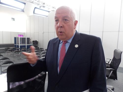 Presidente de las reuniones de Altos Funcionarios APEC Perú 2016, Luis Quesada