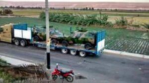 Camiones con tanquetas llegan al valle de Tambo
