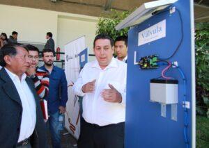 Presentan sistema de riego inteligente que aumentará productividad agrícola