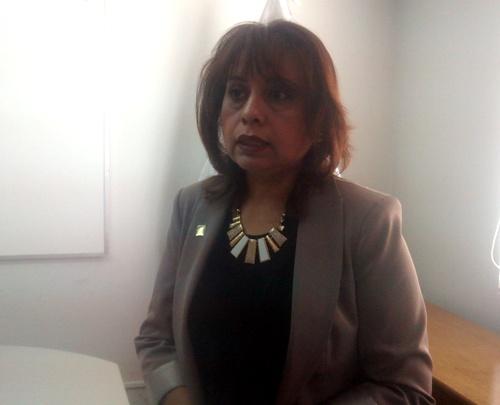 Presidenta del Jurado Electoral Especial (JEE), Consuelo Aquize Díaz.