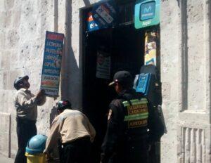 MPA realizó operativo para retirar letreros publicitarios indebidos de Centro Histórico