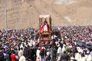 Miles de peregrinos asistieron al Santuario de Chapi por fiesta principal de la Virgen