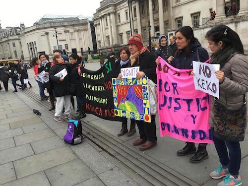 PROTESTA CONTRA KEIKO LONDRES 2