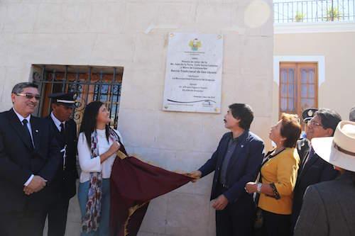 San Lazaro inauguración