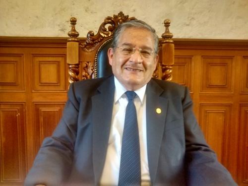 Vicerrector de investigación de la UNSA, Horacio Barreda Tamayo.