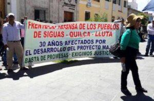 Consejo Regional anularía lista de damnificados Siguas y declararía en emergencia la zona