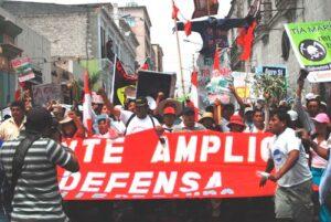 Dirigentes del valle de Tambo con orden de captura pasaron a la clandestinidad