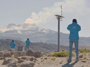 Con modernos equipos monitorearán actividad de volcanes