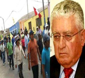 Paro de 72 horas en Islay contra Tía María por declaraciones del presidente de Southern Perú