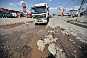 Nuevas vías enplan de desvíos por obras enla autopista variante de Uchumayo