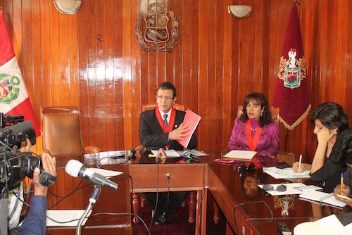 presidente corte arequipa