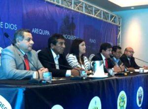 Yamila Osorio preside reunión de Mancomunidad del Sur que organiza debate presidencial