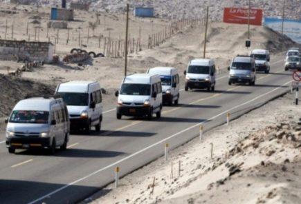 Gerencia de Transportes comenzó a anular autorización de circulación a minivans