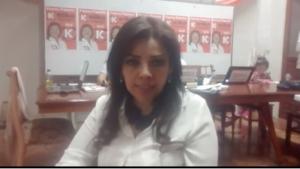 VIDEO. Congresista electa Alejandra Aramayo se pronuncia sobre resultados electorales