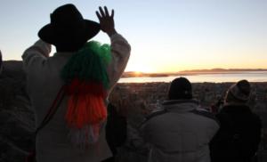 Con ritual de celebración reciben en Arequipa el inicio del Año Nuevo Andino