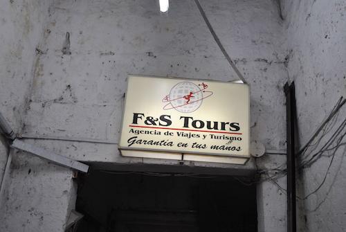 Empresa F & S tours