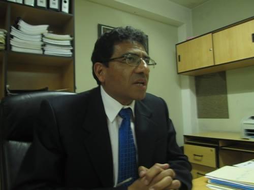 Gerente de Transportes de la Municipalidad Provincial de Arequipa, Percy Velarde.