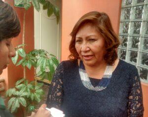 Votar por PPK es votar por la democracia, afirma congresista electa Choquehuanca