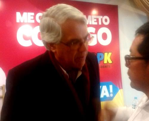 Vocero y especialista en Seguridad Ciudadana, Gino Costa Santolalla.