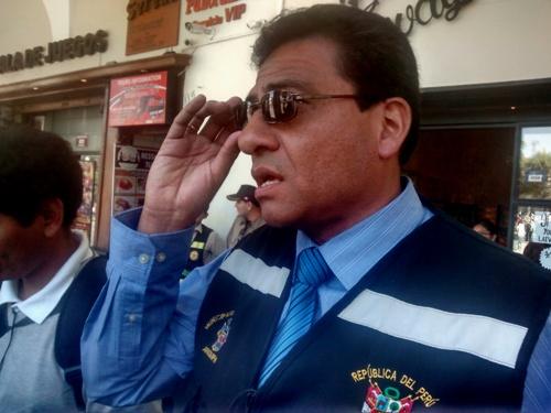 Gerente de Transportes de la MPA, Percy Velarde Rodríguez.