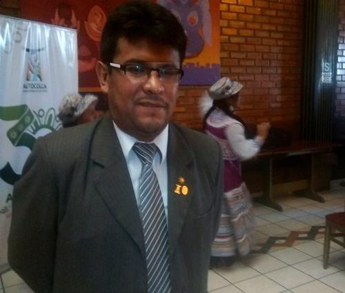 Gerente de AUTOCOLCA, Dennis Salazar Gil.