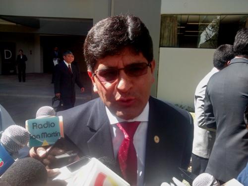 Rector de la Universidad Nacional San Agustín (UNSA), Rohel Sánchez Sánchez.