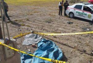 Encuentran cadáver de mujer abandonado cerca de la vía a Cerro Juli