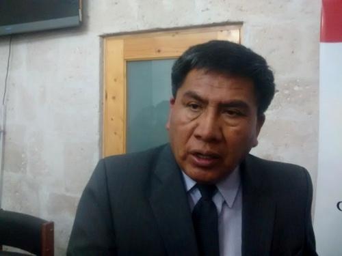 El subgerente de Comunidades Campesinas y Pueblos Originarios del Gobierno Regional de Arequipa (GRA), Julio Flores.