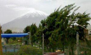 Vientos de hasta 30 kilómetros por hora afectan a la ciudad de Arequipa