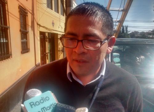 Fiscalizador de la Gerencia del Centro Histórico y Zona Monumental, David Romero Calderón.