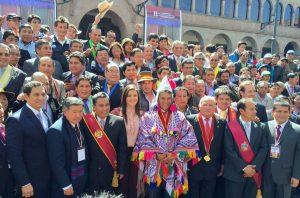 Se inició en Cusco la primera cumbre de gobernadores regionales y alcaldes del país