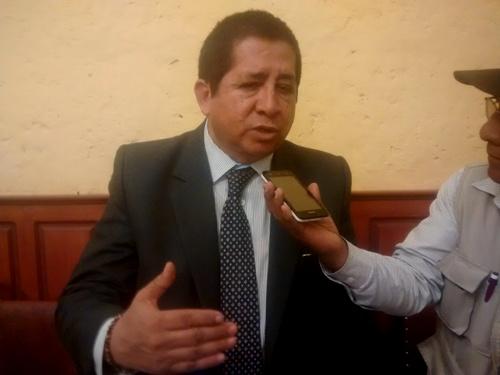 Docente de la facultad de Derecho, Hugo Salas Ortíz.