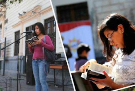 Lecturas Públicas de los escritores del boom latinoamericano en plazas públicas