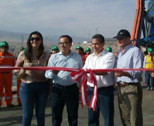 VIDEO. Presidente Humala inauguró nuevo muelle en el puerto de Matarani