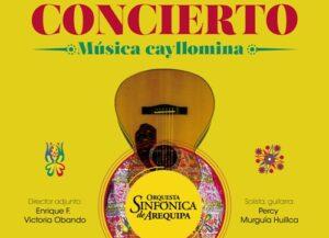Orquesta Sinfónica de Arequipa interpretará música cayllomina en el Monasterio de Santa Catalina