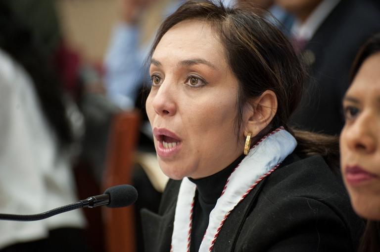 Fiscal María Alejandra Cárdenas
