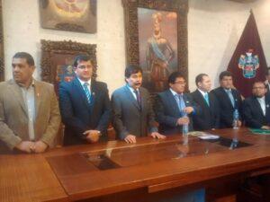 Alcaldes de Arequipa protestarán con marcha por la reducción del Canon Minero