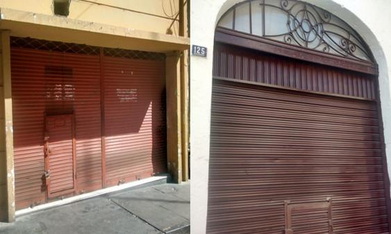 Locales amanecieron cerrados luego del arresto de su gerente.
