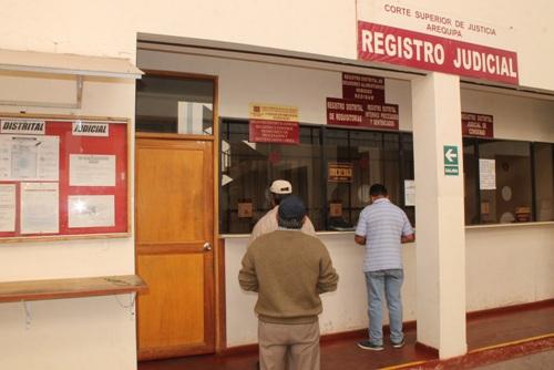 Registro de Condenas