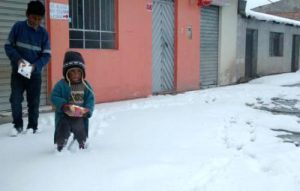 Senamhi alerta por bajas temperaturas que alcanzarían hasta 18 grados bajo cero en la región